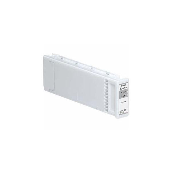 EPSON 純正インクカートリッジ(ライトグレー) SC8LGY70