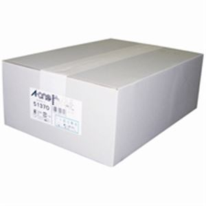(業務用2セット) エーワン マルチカード/名刺用紙 【A4/10面 500枚】 51370 再生紙白 【×2セット】