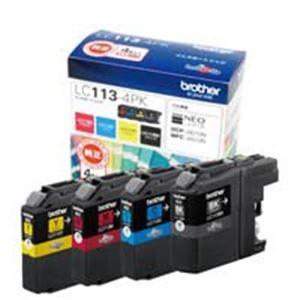 (業務用5セット) ブラザー工業(BROTHER) インクカートリッジ LC113-4PK 【×5セット】