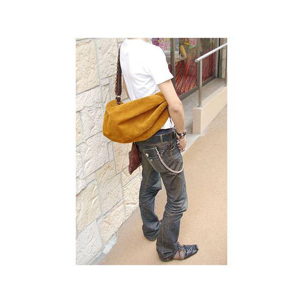 ★dean(ディーン) drow-string rucksack ショルダーバッグ Tabacco(茶)【送料無料】