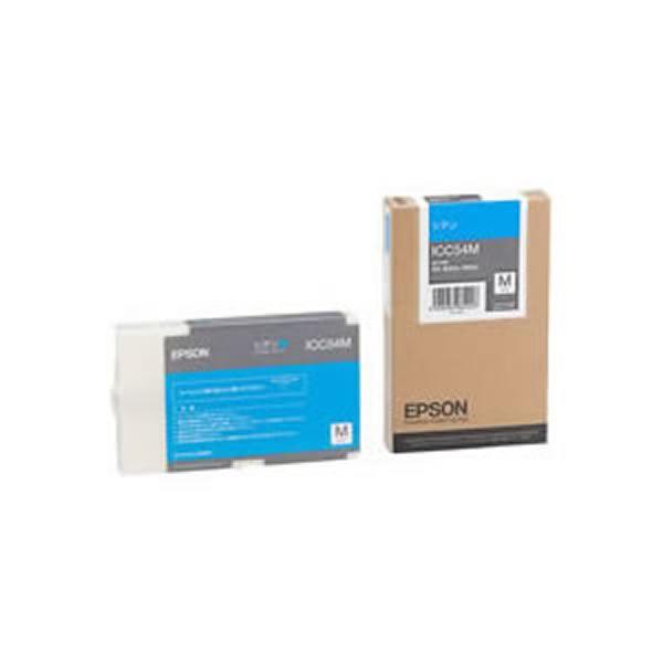 (業務用3セット) 【純正品】 EPSON エプソン インクカートリッジ/トナーカートリッジ 【ICC54M C シアン】【送料無料】