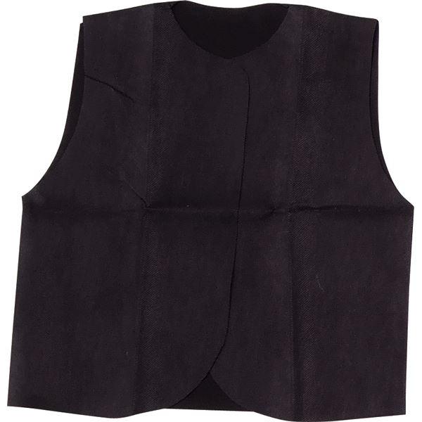 (まとめ)アーテック 衣装ベース J ベスト 黒 【×30セット】