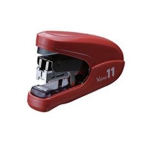 (業務用30セット) マックス ホッチキスバイモ11 HD-11FLK/R 赤 HD90302 ×30セット