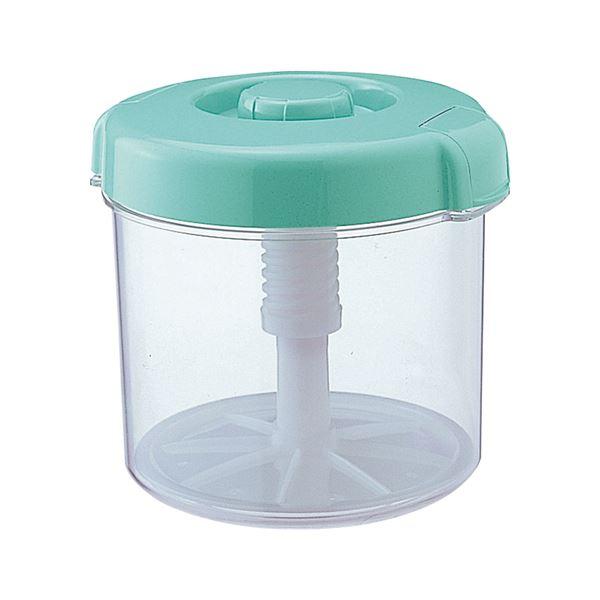 【12セット】 漬物容器/漬物用品 【R-50 グリーン】 ハイペット 〔キッチン用品 家庭用品 手づくり〕【代引不可】