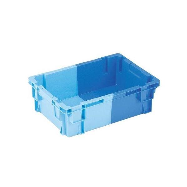 【5個セット】 業務用コンテナボックス/食品用コンテナー 【NF-S25】 ダークブルー/ブルー 材質:PP【代引不可】