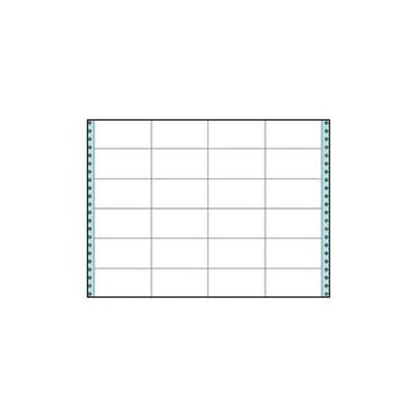 (まとめ)コクヨ 連続伝票用紙(タックフォーム)横15×縦11インチ(381.0×279.4mm)24片 ECL-745 1箱(50シート)【×3セット】