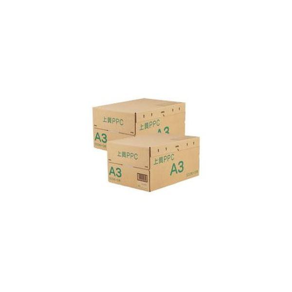 (まとめ)上質PPC用紙 NY A3 1セット(5000枚:2500枚×2箱)【×3セット】