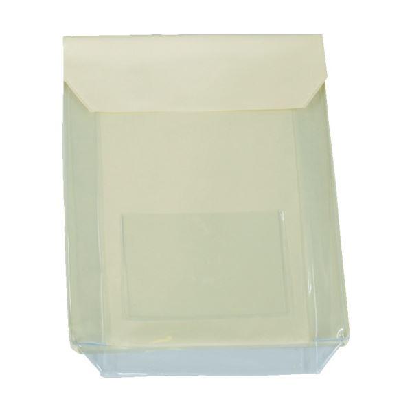(まとめ) TRUSCO 通い袋 マチ付 クリームTKM3037-CR 1個 【×10セット】