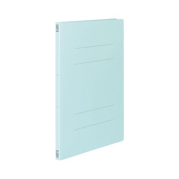 (まとめ) コクヨ フラットファイルV(樹脂製とじ具) A3タテ 150枚収容 背幅18mm 青 フ-V43B 1パック(10冊) 【×10セット】