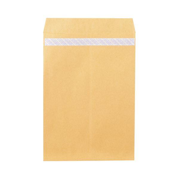 (まとめ) ピース R40再生紙クラフト封筒 テープのり付 角1 85g/m2 846 1パック(100枚) 【×10セット】