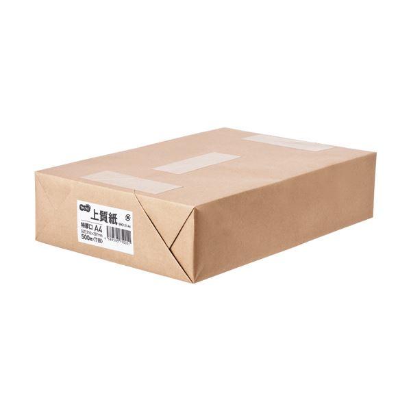 (まとめ) TANOSEE 上質紙 特厚口 A41冊(500枚) 【×5セット】