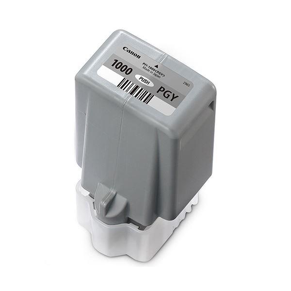 キヤノン インクタンクPFI-1000PGY フォトグレー 80ml 0553C004 1個