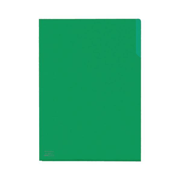 (まとめ) コクヨ クリヤーホルダー10(テン)A4 緑 フ-T750-5 1セット(5枚) 【×30セット】