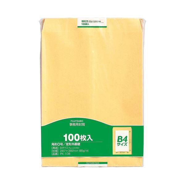 (まとめ)マルアイ 事務用封筒 PK-108 角0 100枚×5【×5セット】