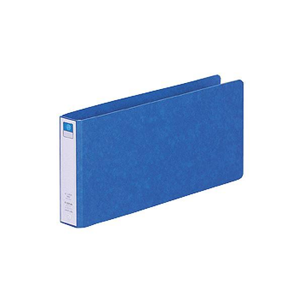 (まとめ) リヒトラブ リングファイル(ツイストリング) 5×11ヨコ 2穴 200枚収容 背幅35mm 藍 F-1227UN-5 1冊 【×30セット】