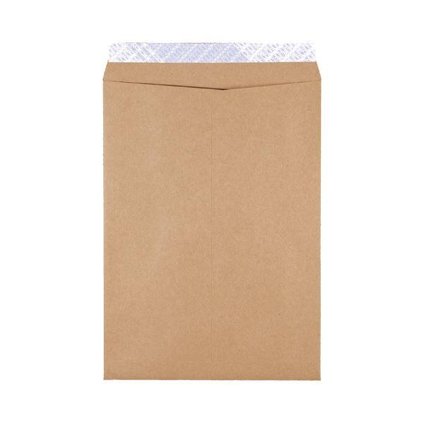 (まとめ)ピース 発送用封筒スーパークラフトテープ付 角2 100g/m2 業務用パック 735-00 1箱(500枚)【×3セット】