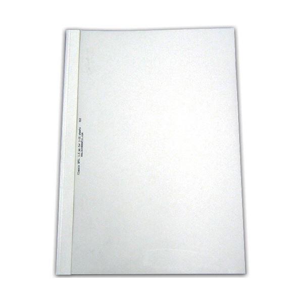 透明表紙+白紙の製本カバー まとめ 選択 ジャパンインターナショナルコマースとじ太くん専用カバー A4タテ 背幅12mm クリア 10枚 1パック お得 ホワイト 4110005 ×5セット
