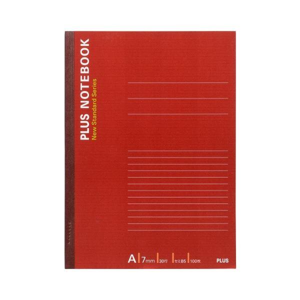 (まとめ)プラス ノートブック NO-010AS B5 A罫5冊【×30セット】