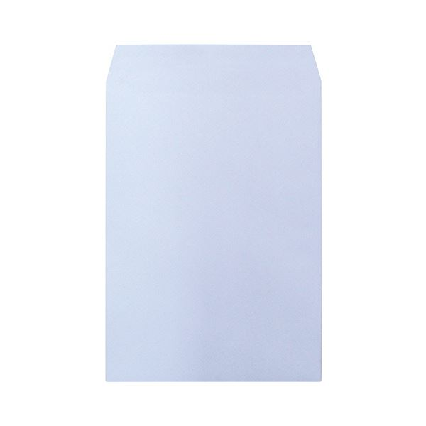 (まとめ)ハート 透けないカラー封筒 角2パステルアクア XEP494 1セット(500枚:100枚×5パック)【×3セット】