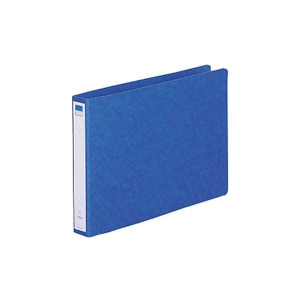 (まとめ) リヒトラブ リングファイル(ツイストリング) A4ヨコ 2穴 200枚収容 背幅35mm 藍 F-833UN-5 1冊 【×30セット】