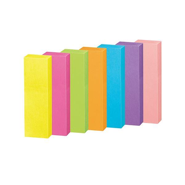 (まとめ) コクヨ 強粘着ふせん[K2]50×15mm ネオンカラー7色 K2メ-KN5015X25 1パック(25冊) 【×10セット】