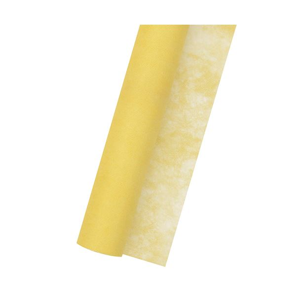 (まとめ) ササガワ 不織布 Jロール700mm×20m 黄 49-9006 1巻 【×10セット】