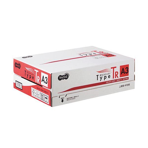 (まとめ) TANOSEE αエコペーパータイプTR A3 1箱(1500枚:500枚×3冊) 【×5セット】
