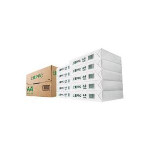 (まとめ) 上質PPC用紙 NY A4 1箱(5000枚:500枚×10冊) 【×5セット】