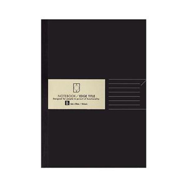 (まとめ)コクヨ ノートブック(エッジタイトル)A5 B罫 30枚 ノ-J103B 1セット(5冊)【×10セット】