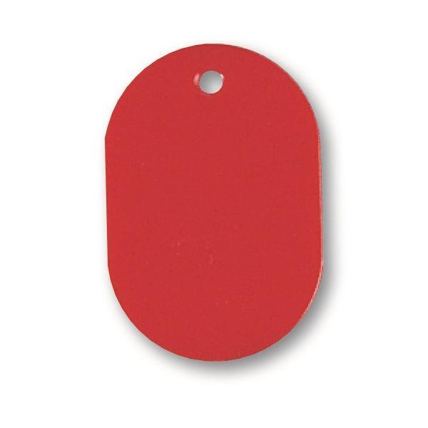 まとめ ソニック 番号札 小 無地 保証 100個:10個×10パック 1セット 倉庫 赤NF-751-R ×10セット