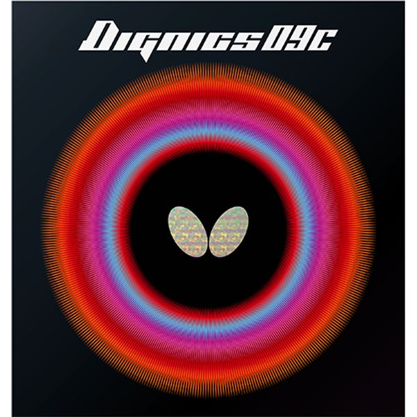 Butterfly(バタフライ) ハイテンション裏ラバー DIGNICS 09C ディグニクス09C ブラック A(厚)