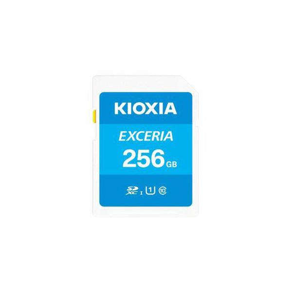 SDカード EXCERIA 2020秋冬新作 256GB 未使用 KIOXIA 送料無料 KSDU-A256G