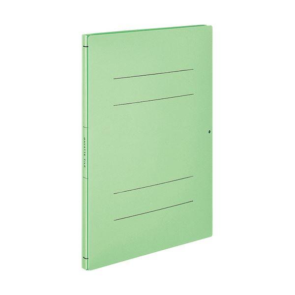 (まとめ) コクヨガバットファイル(活用タイプ・紙製) A4タテ 1000枚収容 背幅14~114mm 緑 フ-V90G 1冊 【×30セット】
