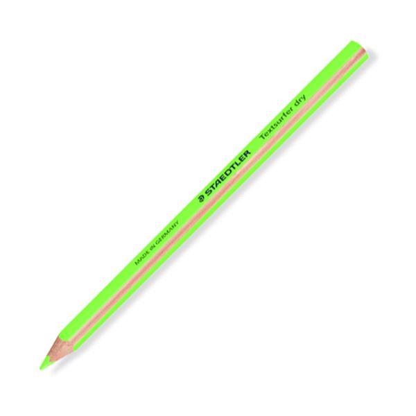 マーキングやイラストに 発色あざやかで便利な蛍光色鉛筆 まとめ 登場大人気アイテム ステッドラー テキストサーファー ドライ蛍光色鉛筆 太軸 64-5 ×10セット 送料無料でお届けします 12本 1セット ネオングリーン 128