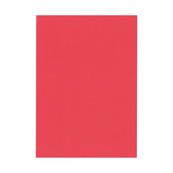 北越コーポレーション 紀州の色上質A3Y目 薄口 赤 1箱(2000枚:500枚×4冊)