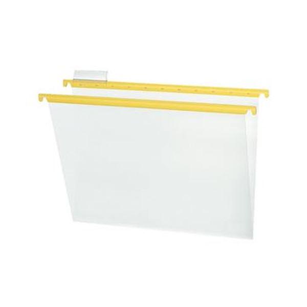 (まとめ)コクヨ ハンギングフォルダーPP(カラー)A4 黄 A4-HFPN-Y 1セット(10冊)【×5セット】