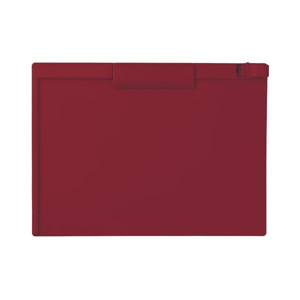 (まとめ) セキセイ クリップボード A4ヨコ SSS-3057P-20レッド 1枚 【×30セット】