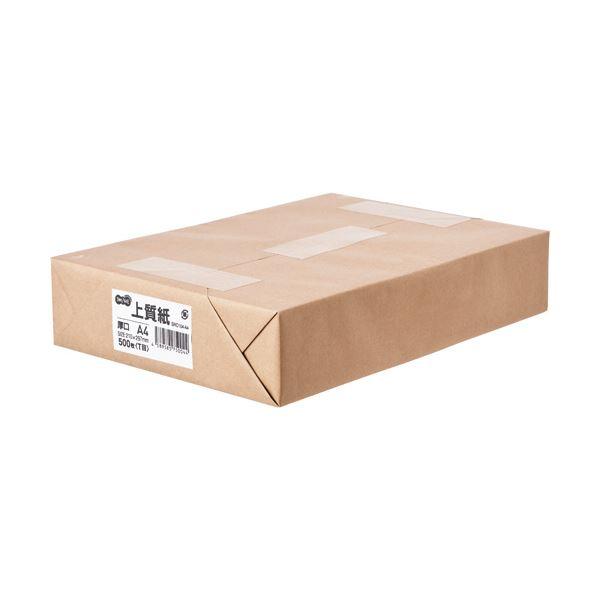(まとめ) TANOSEE 上質紙 厚口 A41冊(500枚) 【×5セット】