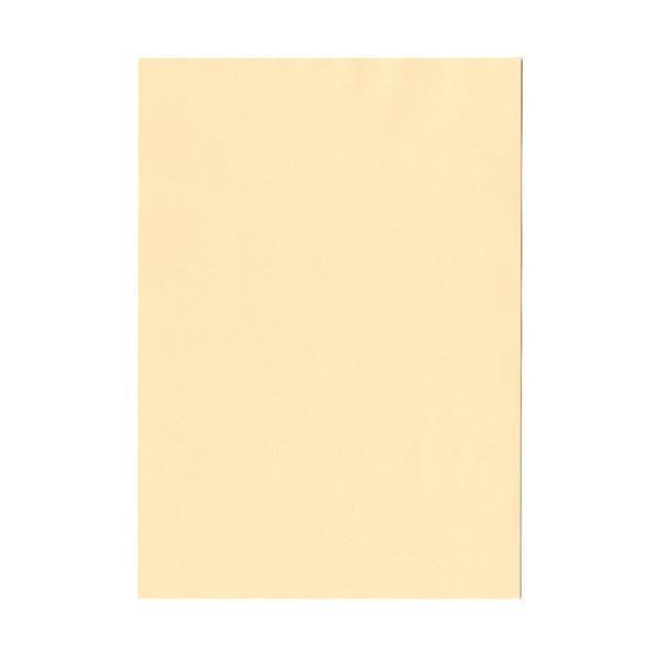 (まとめ) 北越コーポレーション 紀州の色上質A4T目 薄口 肌 1冊(500枚) 【×5セット】