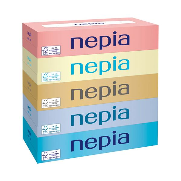 まとめ ネピア ネピアティシュ150W ×3セット 信頼 5個×12パック 通信販売