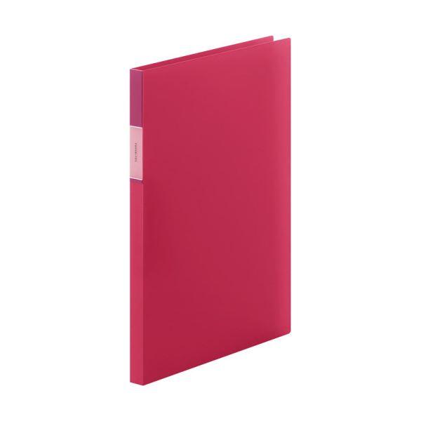 (まとめ) キングジム FAVORITESZファイル(透明) A4タテ 120枚収容 背幅17mm 赤 FV558Tアカ 1冊 【×30セット】