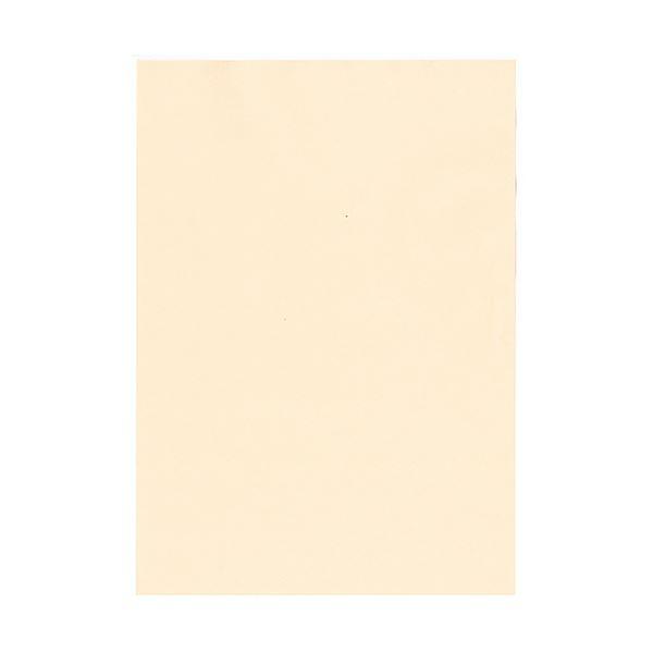 (まとめ) 北越コーポレーション 紀州の色上質A4T目 薄口 アイボリー 1冊(500枚) 【×5セット】