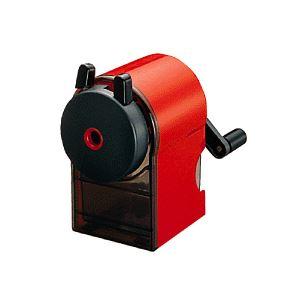 (まとめ) 三菱鉛筆 鉛筆削り 赤 KH-18.15 1台 【×10セット】