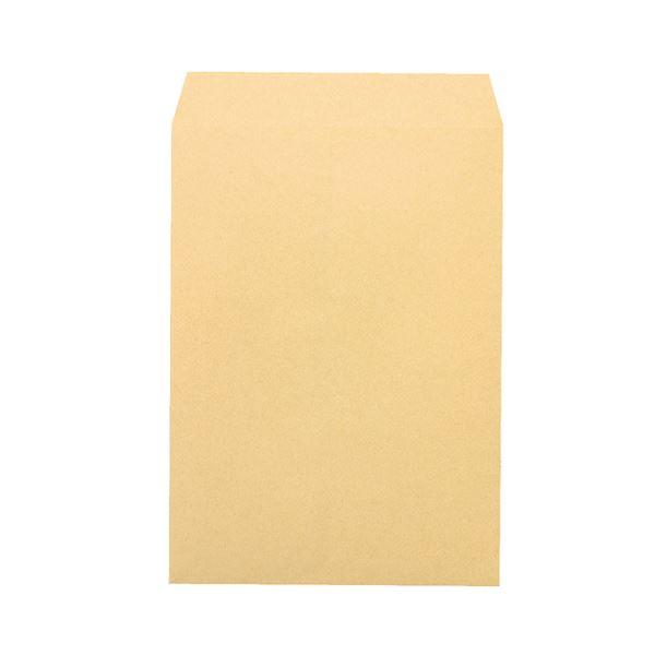 (まとめ) ピース R40再生紙クラフト封筒 角2 85g/m2 業務用パック 681-80 1箱(500枚) 【×5セット】