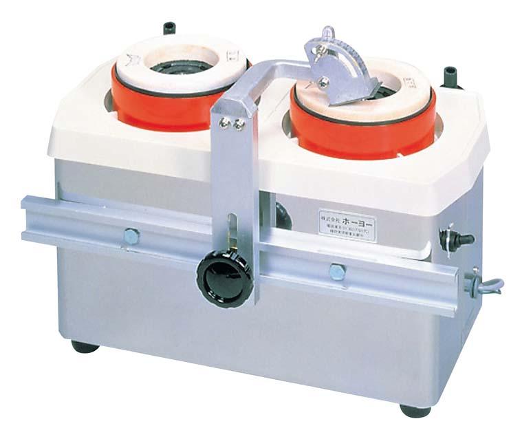 ホーヨー 水流循環式 刃物研磨機 ツインシャープナー MSE-2W(代引不可)