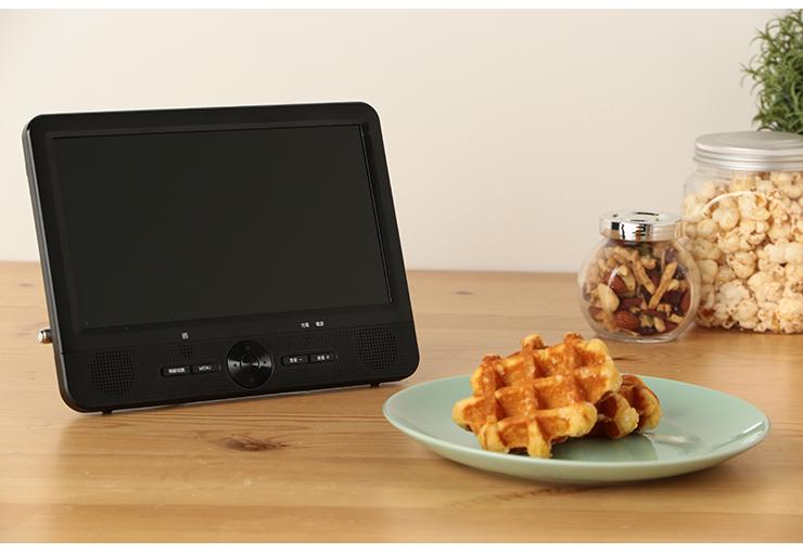 地デジ録画機能搭載 9インチ 地上デジタルテレビ OT-FT09AK AC DC 屋外 番組ガイド表示 ワンセグ 自動切り替え 充電 ポータブル