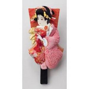 東京浅草「高久」の押絵振袖羽子板(しばりピンク)【送料無料】