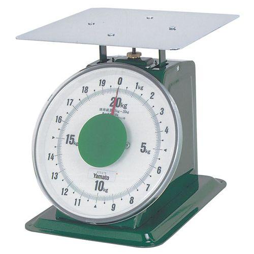 ヤマト 上皿自動はかり「大型」 平皿付 SDX-20 20kg BHK6720