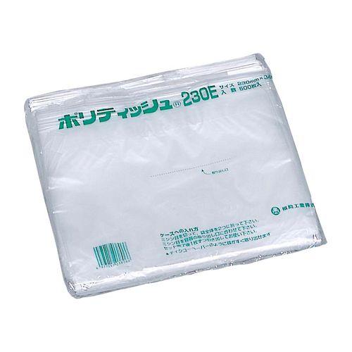福助工業 ポリティッシュ230E(10000枚入) (500枚×20袋) GTI2601