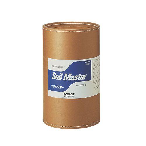エコラボ 粉末銀器用前浸漬洗浄剤 ソイルマスター (ファイバードラム入)20Kg TSV042